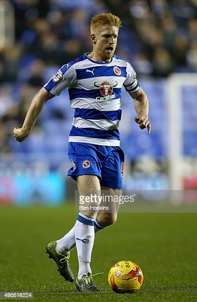 Paul McShane of Reading in action during the Sky Bet Championship match between Reading and Huddersfield Town on November 3 2015 in Reading United...