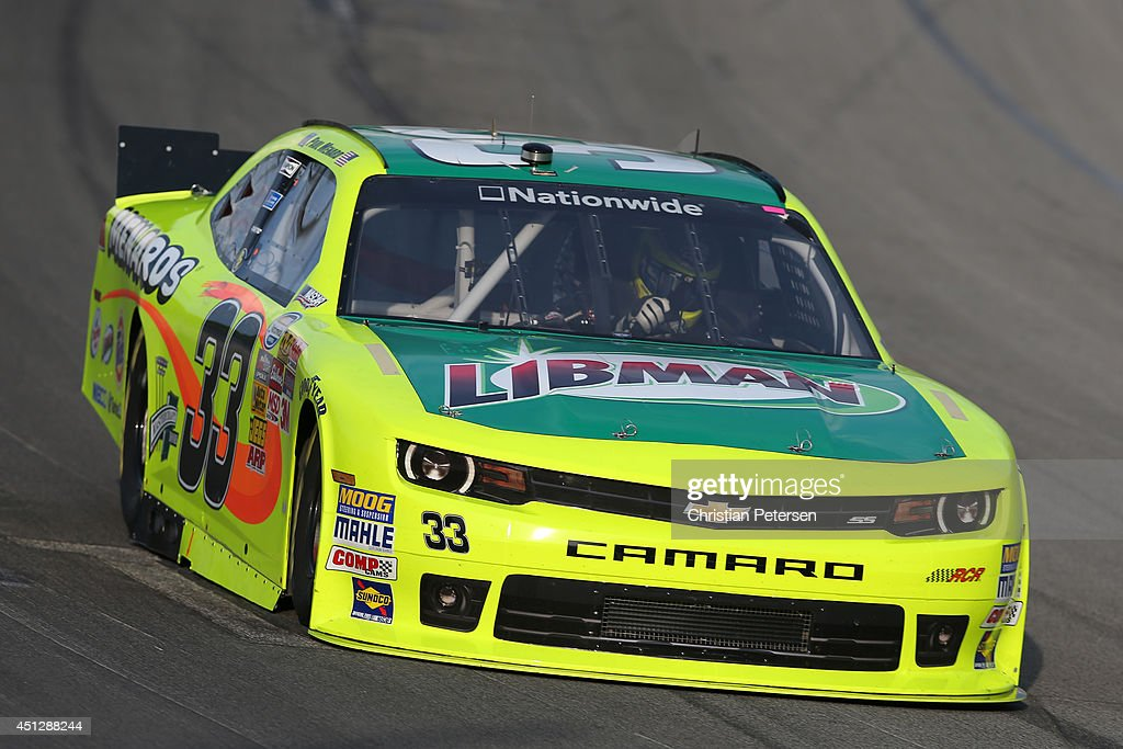 Paul Menard, driver of the Libman/Menards Chevrolet