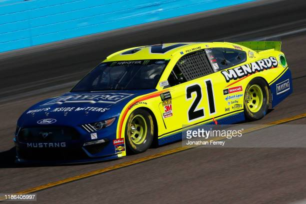 Paul Menard driver of the Menards/Maytag Ford practices for the Monster Energy NASCAR Cup Series Bluegreen Vacations 500 at ISM Raceway on November...