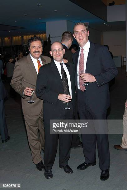 Paul Mendelson Lee Weinberg and Craig Culber attend The Wall Street Journal Celebrates a Brilliant 2006 with a Special Wine Tasting Toast to 2007 at...