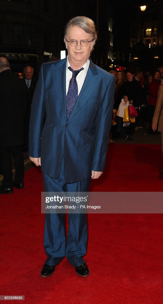 Paul Merton arrives at the BBC event Bruce: A Celebration at the London Palladium, which will honour the life of the late entertainer Sir Bruce Forsyth.