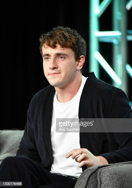 Paul Mescal of Normal People speaks during the Hulu segment of the 2020 Winter TCA Press Tour at The Langham Huntington Pasadena on January 17 2020...