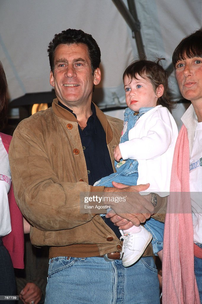 Paul Michael Glaser And Zoe At Kids For Kids AIDS Benefit : News Photo