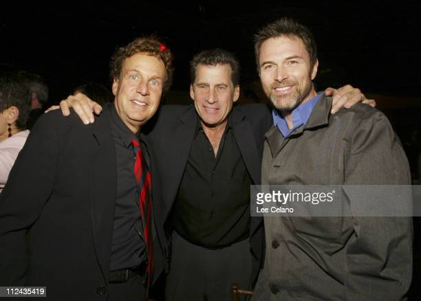 Paul Michael Glaser with producers Robert Cort and David Madden