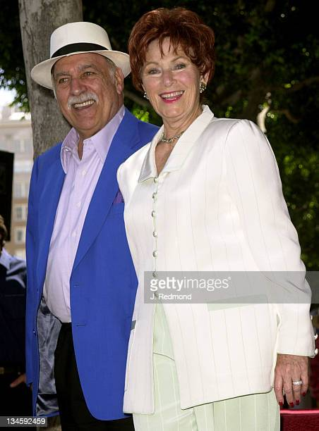 Paul Michael Marion Ross during Marion Ross Honored with a Star on the Hollywood Walk of Fame at Hollywood Boulevard in Hollywood California United...