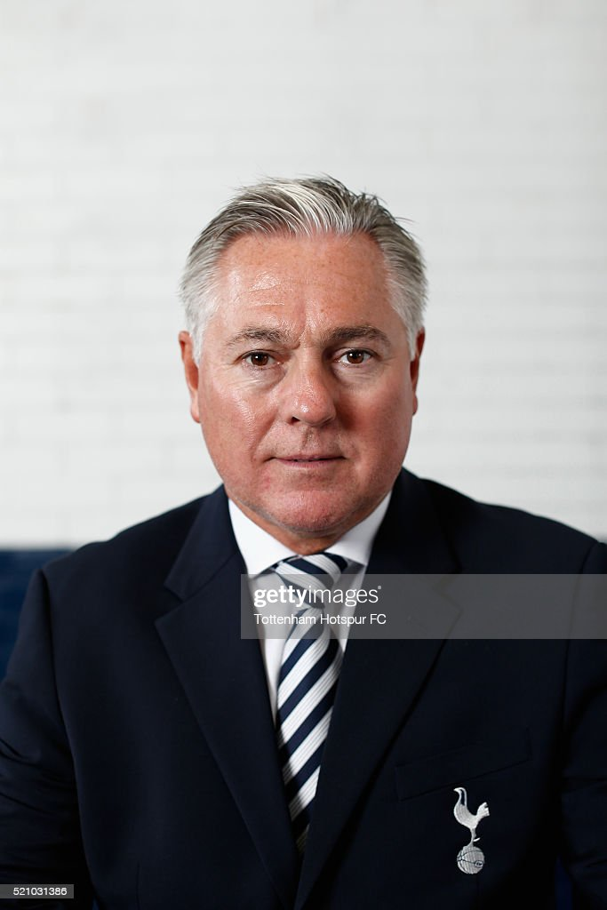 Paul Miller poses at White Hart Lane on August 29, 2015 in London, England.
