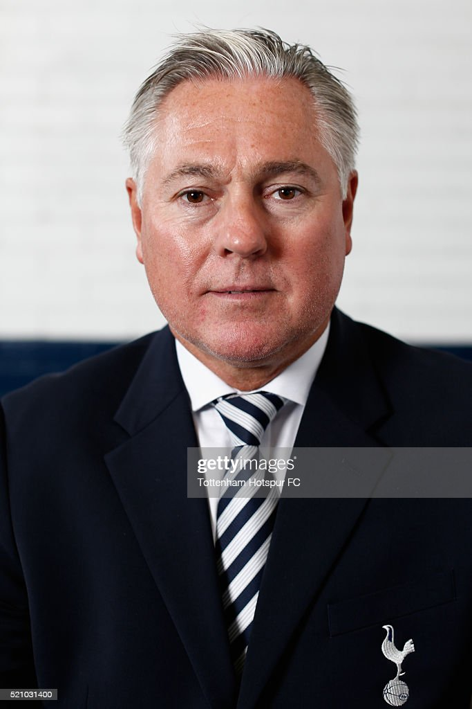 Tottenham Hotspur Legend Portrait Session