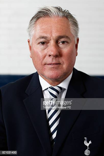 Paul Miller poses at White Hart Lane on August 29 2015 in London England