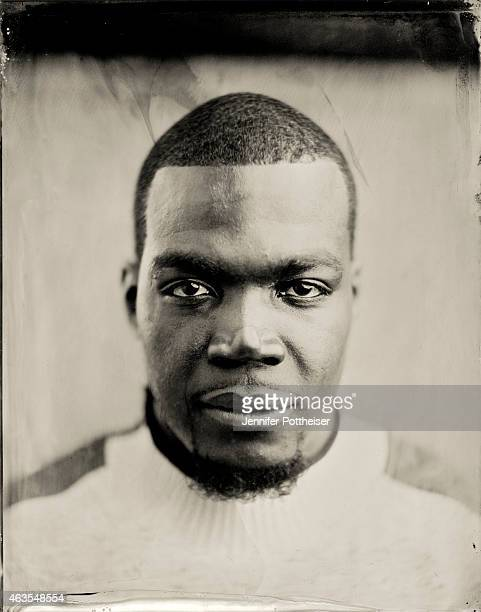 Paul Millsap of the Atlanta Hawks poses for portraits during the NBAE Circuit as part of 2015 AllStar Weekend at the Sheraton Times Square Hotel on...