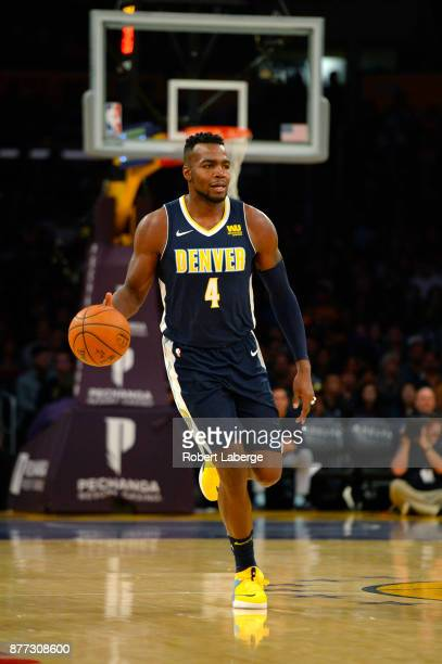 Paul Millsap of the Denver Nuggets during the game against the Los Angeles Lakers on November 19 2017 at STAPLES Center in Los Angeles California...