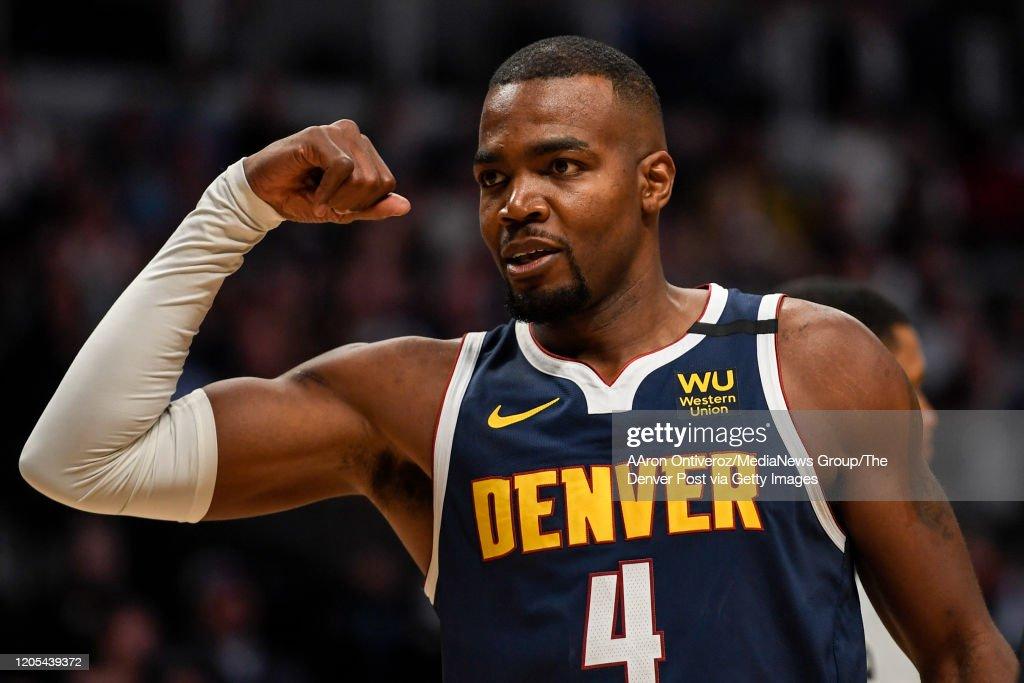 DENVER NUGGETS VS SAN ANTONIO SPURS, NBA REGULAR SEASON : News Photo