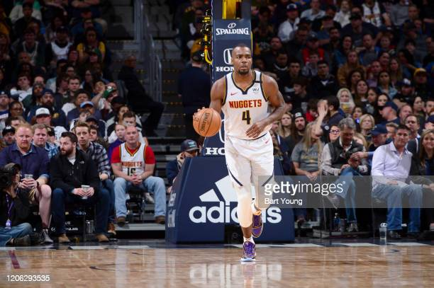 Paul Millsap of the Denver Nuggets handles the ball against the Milwaukee Bucks on March 09 2020 at the Pepsi Center in Denver Colorado NOTE TO USER...