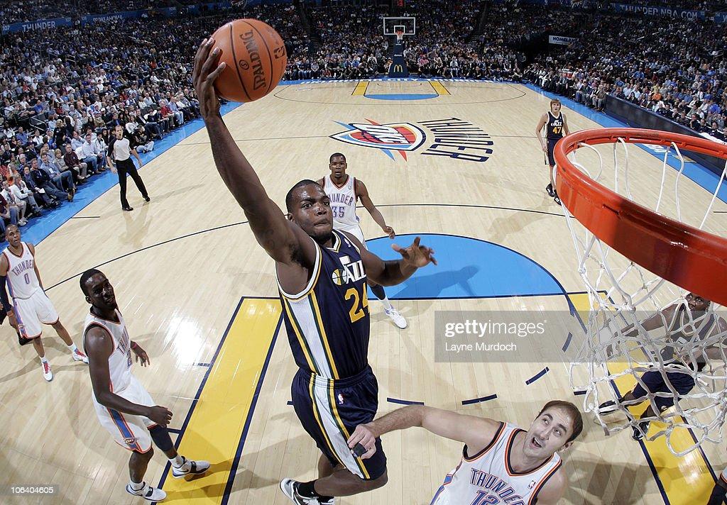 Utah Jazz v Oklahoma City Thunder