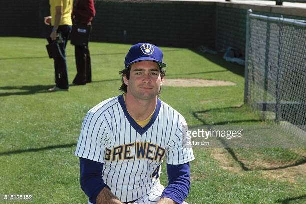 Paul Molitor, Milwaukee Brewers infielder.