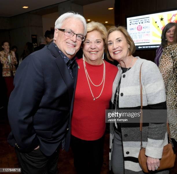 Paul Moore honoree Bebe Evans and Beth Moore attend the Twelfth Annual Louise Scruggs Memorial Forum honoring Bebe Evans and Marcie Allen Van Mol...