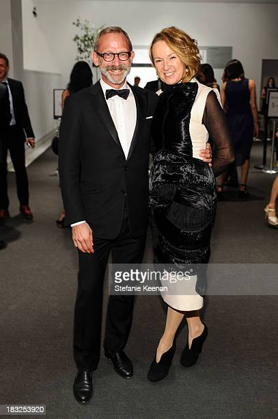 Paul Morris and Annie Philbin attend Hammer Museum 11th Annual Gala In The Garden With Generous Support From Bottega Veneta October 5 Los Angeles CA...
