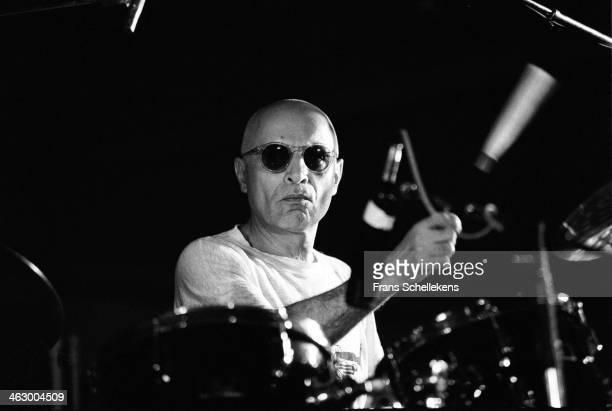 Paul Motian, drums, performs the North Sea Jazz Festival in the Hague, the Netherlands on 12 July 1990.