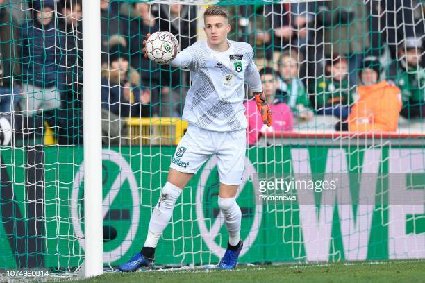 Paul Nardi goalkeeper of Cercle Brugge during the Jupiler Pro League match between Cercle Brugge and KAS Eupen on December 26 2018 in Brugge Belgium...
