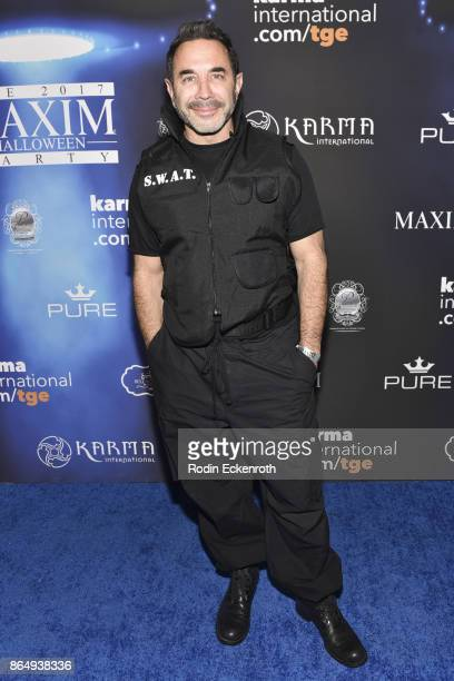 Paul Nassif arrives at the 2017 MAXIM Halloween Party at LA Center Studios on October 21, 2017 in Los Angeles, California.