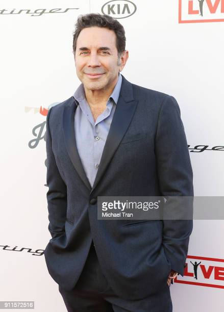 Paul Nassif arrives to the Steven Tyler and Live Nation presents Inaugural Gala Benefitting Janie's Fund held at Red Studios on January 28 2018 in...