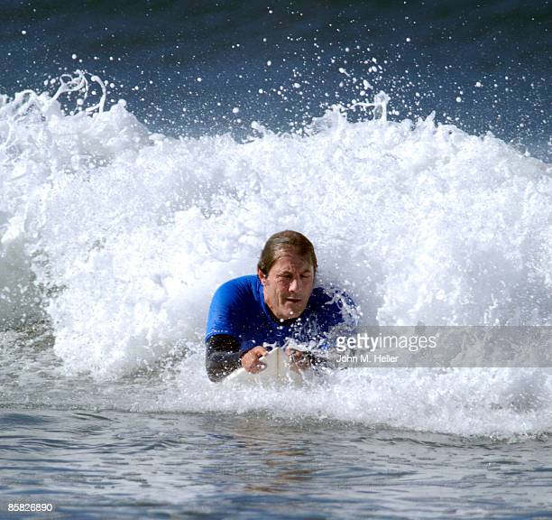 Paul Naude attends the 2009 Project Save Our Surf 1st Annual Surfathon and Oceana Awards at Ocean Park Beach on April 5 2009 in Santa Monica...