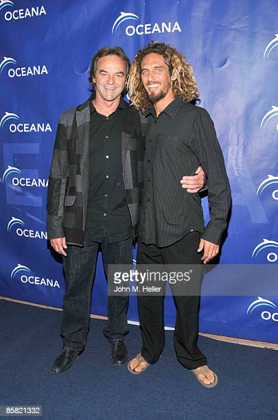 Paul Naude recipient of the Oceana Sea Friend Award for Outstanding Contribution to Ocean Protection and Preservation and World Champion Surfer Rob...