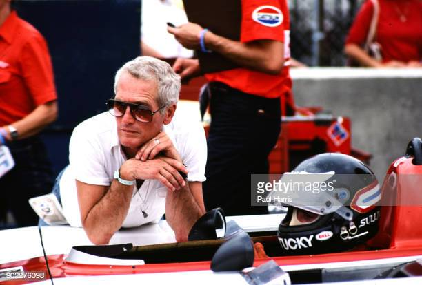 Paul Newman, actor was fascinated with car racing, photographed March 14, 1981 at Long Beach, California