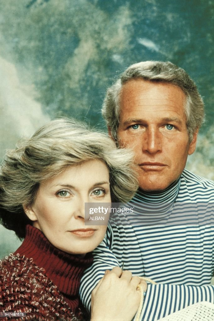 Paul Newman and his wife Joanne Woodward : News Photo