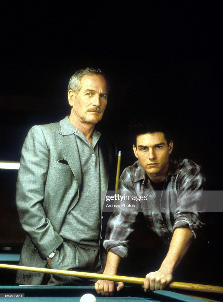 Paul Newman And Tom Cruise In 'The Color Of Money' : ニュース写真