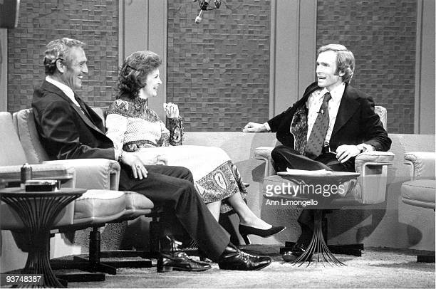 SHOW 1/4/73 Paul Newman and wife Joanne Woodward chatted with host Dick Cavett