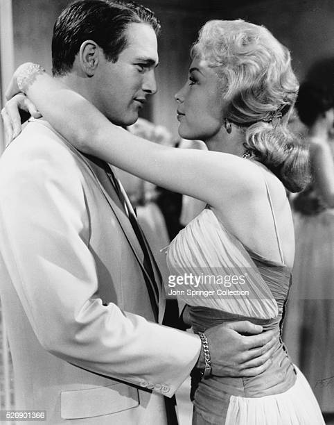 Paul Newman as David Alfred Eaton and Barbara Eden as Clemmie Shreve in the 1960 film From the Terrace