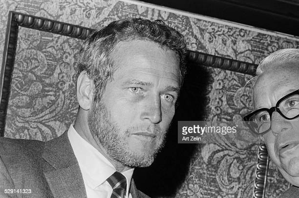 Paul Newman closeup circa 1970 New York