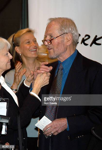 Paul Newman Daughter Nell Newman and Joanne Woodward