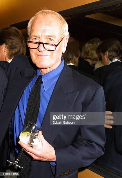 "Paul Newman during Miramax Screening of ""Chocolat"" at Sweetland Screening Room in New York, New York, United States."