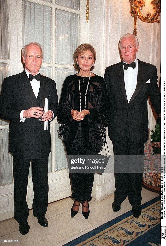 Charity Gala In Aid Of L'Envol At Saint Nicolas Hotel Ritz In Paris : News Photo