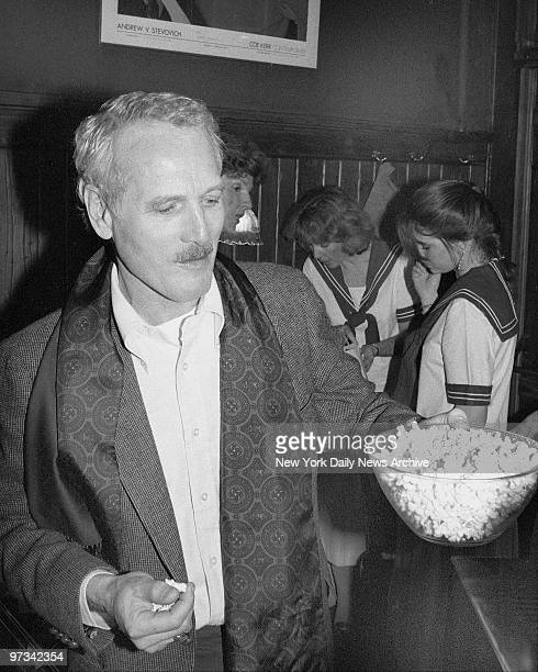 Paul Newman introduced his newest food product microwave popcorn Newman's Own Microwave Popcorn three neat popandserve bags packed in a box which...