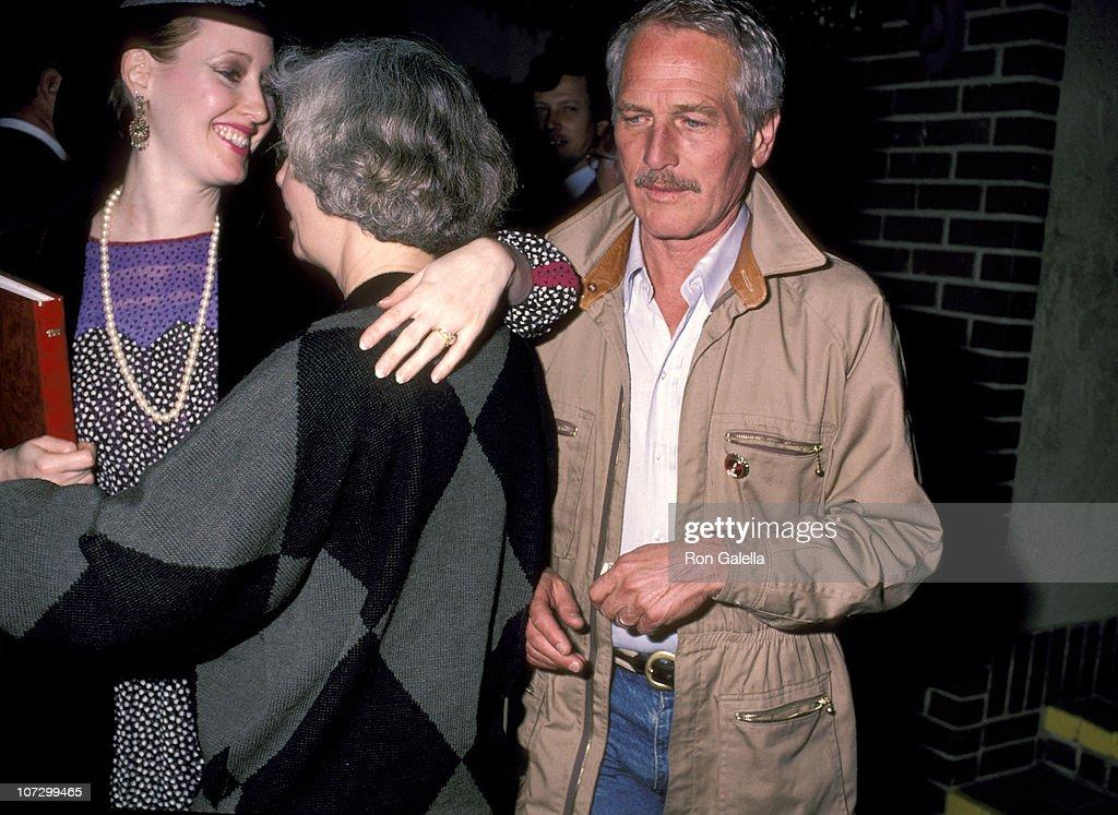 Paul Newman, Joanna Woodward, and Daughter Susan Newman ...