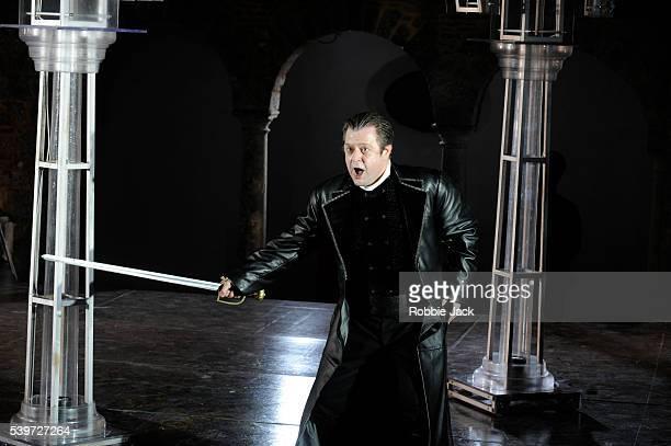 Paul Nilon performs in the production of Antonio Vivaldi's opera L'Incoronazione Di Dario at Garsington in Oxfordshire   Location Garsington...