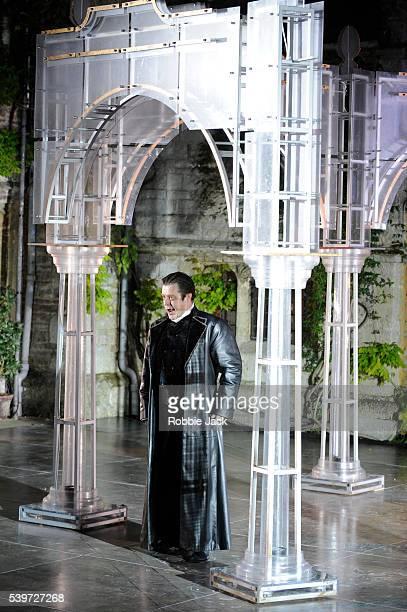 Paul Nilon performs in the production of Antonio Vivaldi's opera L'Incoronazione Di Dario at Garsington in Oxfordshire | Location Garsington...