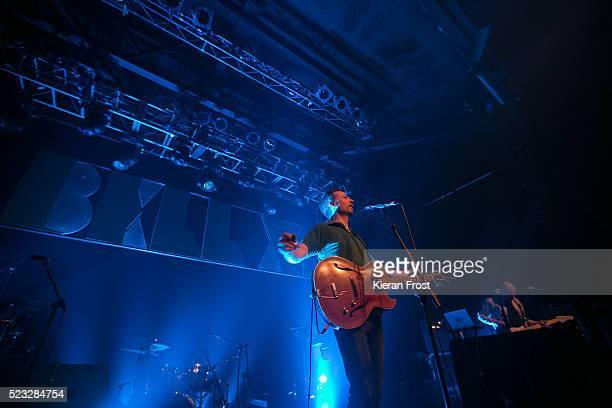 Paul Noonan and David Geraghty of Bell X1 performs at Vicar Street on April 22, 2016 in Dublin, Ireland.