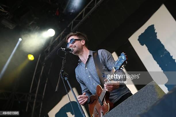 Paul Noonan of Bell X1 performs at day 1 of the Forbidden Fruit festival at Royal Hospital Kilmainham on May 31, 2014 in Dublin, Ireland.