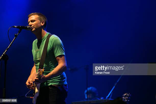 Paul Noonan of Bell X1 performs at electric Picnic at Stradbally Hall Estate on September 3, 2016 in Dublin, Ireland.