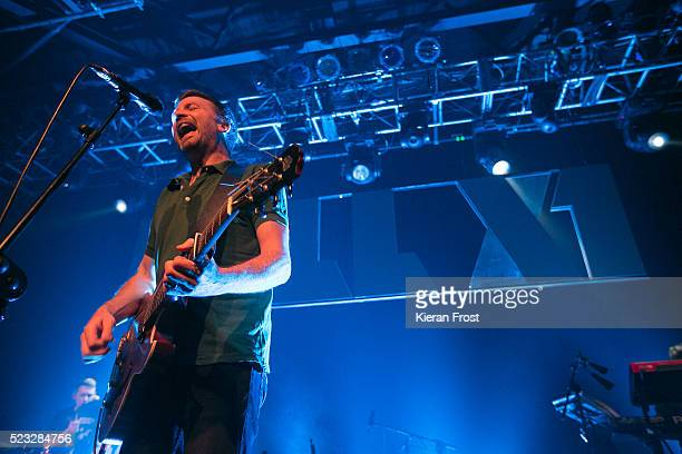 Paul Noonan of Bell X1 performs at Vicar Street on April 22, 2016 in Dublin, Ireland.