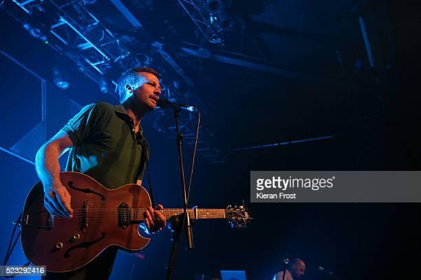 Paul Noonan of Bell X1 performs at Vicar Street on April 22, 2016 in Dublin, Ireland.