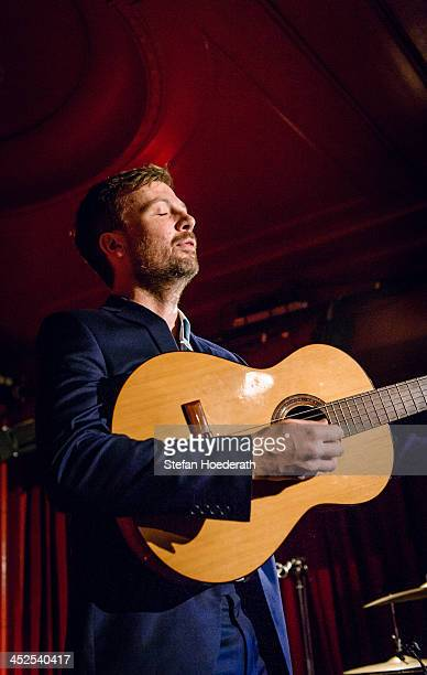 Paul Noonan of Bell X1 performs live during a concert at Roter Salon on November 29, 2013 in Berlin, Germany.
