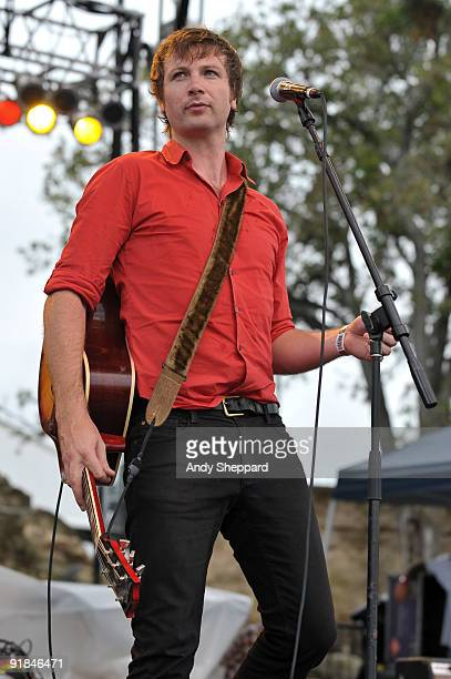 Paul Noonan of Bell X1 performs on stage on Day 2 of Austin City Limits Festival 2009 at Zilker Park on October 3, 2009 in Austin, Texas. U.S.A.