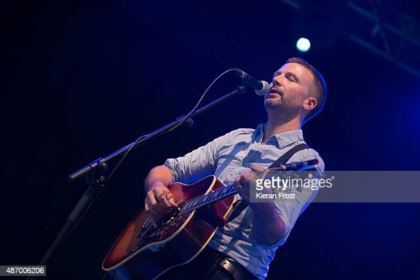 Paul Noonan of Printer Clips performs at Electric Picnic on September 5, 2015 in Stradbally, Ireland.