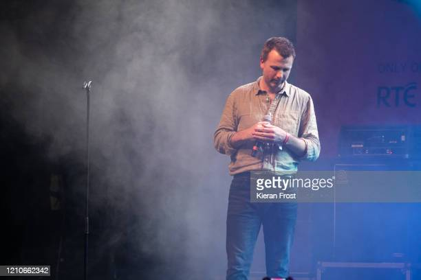 Paul Noonan performs with Daithi at the RTE Choice Music Prize at Vicar Street on March 05, 2020 in Dublin, Dublin.