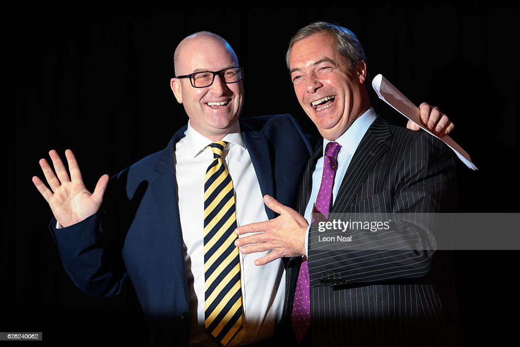 Paul Nuttall Is Elected The New Leader Of UKIP