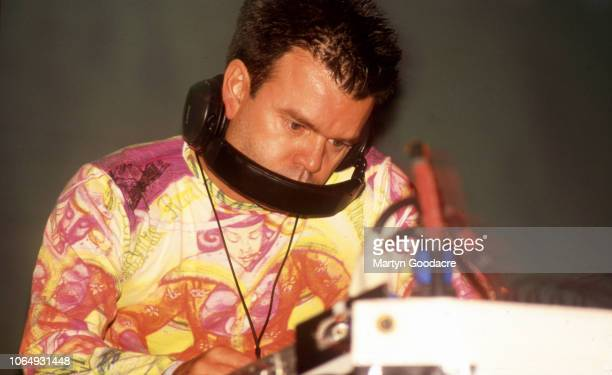 DJ Paul Oakenfold performs at Glastonbury Festival United Kingdom 1994